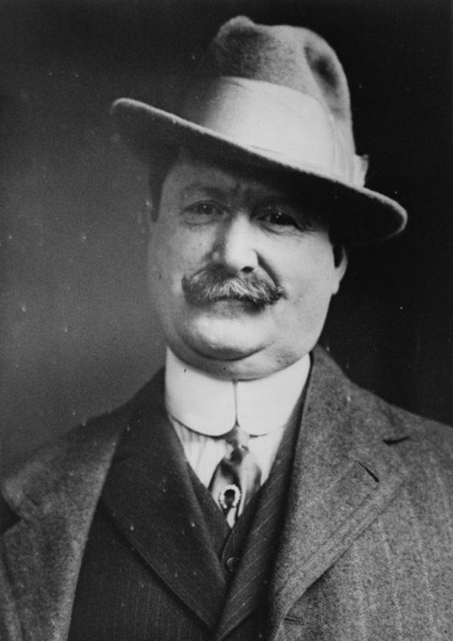 William J. Burns, 1927 (b/w photo)