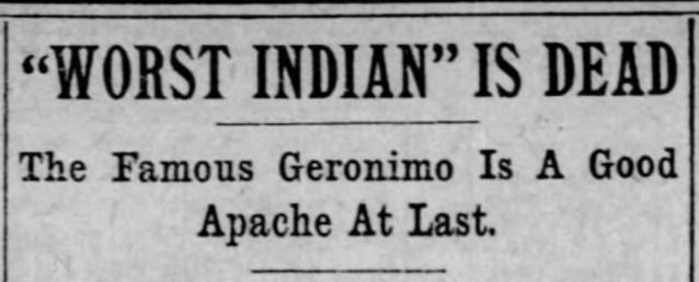 geronimo headline1