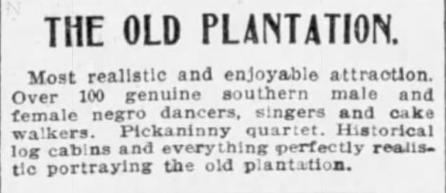 Old Plantation 1